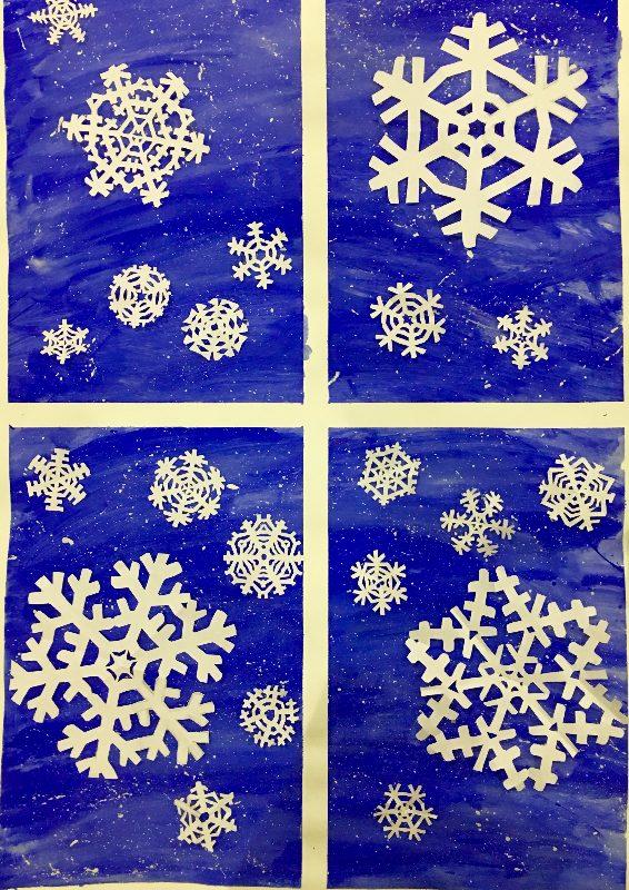 Fraser Woods Montessori School Winter Art Activities Over Winter