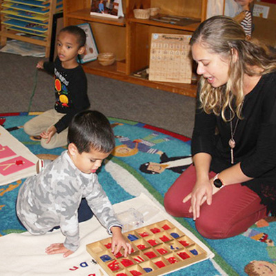 Fraser Woods Montessori Primary Ages 3 to 6 years
